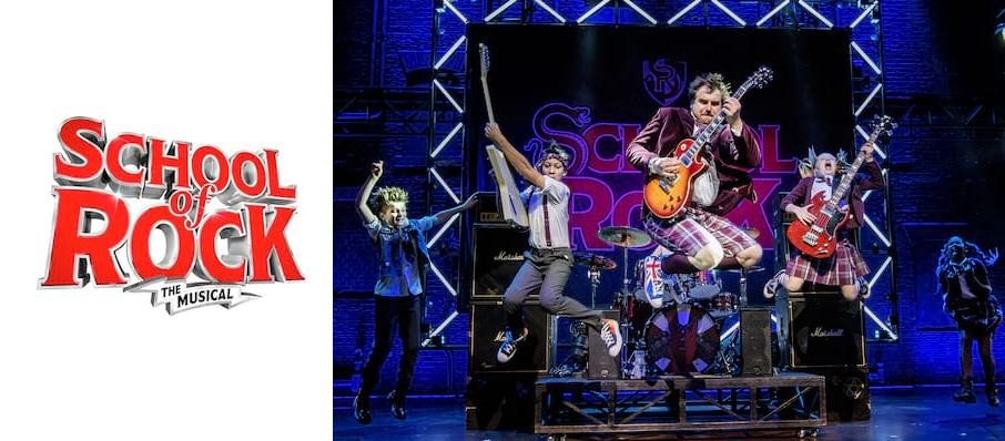 The School of Rock at Sunderland Empire