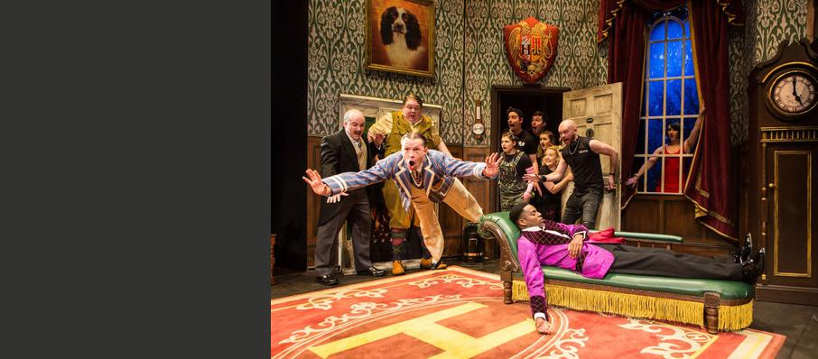 The Play That Goes Wrong, Duchess Theatre, Newcastle Upon Tyne